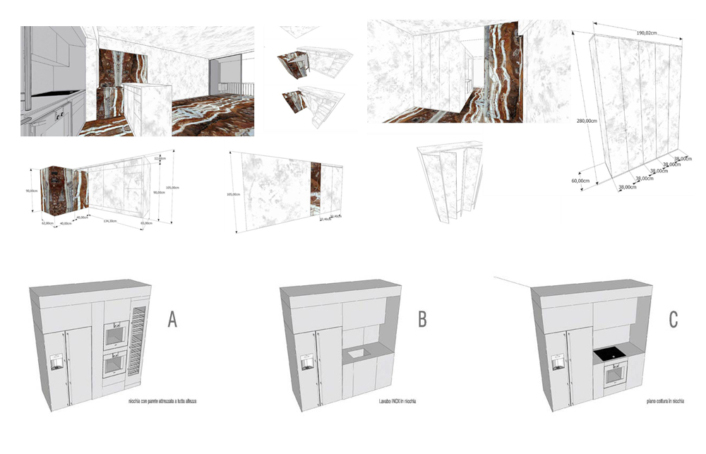 Mirabeau, Housing, interior design